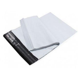"""100 מעטפות בלדרות דגם L מניילון אפור (עבות וחזקות) 35X51 ס""""מ"""
