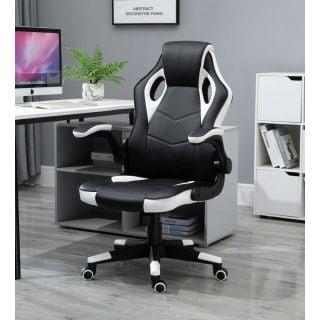 כיסא גיימר מקצועי ארגונומי EXTREME COMFORT לבן